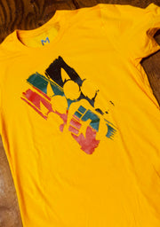 The Celebration (Yellow)-T Shirt - Bare All Clothing