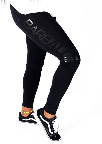 Bare All Leggings (Black/Black) - Bare All Clothing