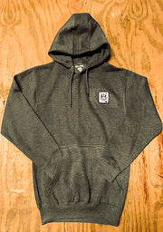 Bare All Patch Hoodie (Dark Grey) - Bare All Clothing