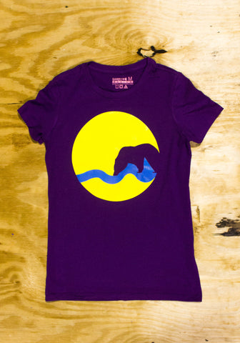 BAxGR T-Shirt (Purple)(Female Only)