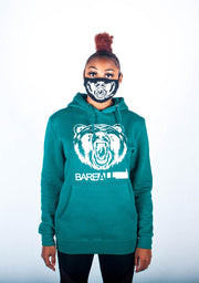 Bare All Hoodie (Teal/White) - Bare All Clothing