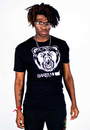 Bare All Logo T-Shirt (White/Black) - Bare All Clothing