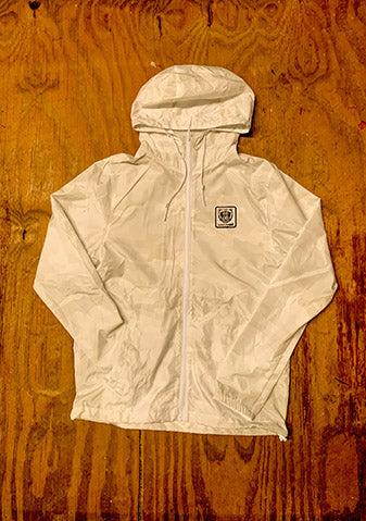White Camo Windbreaker - Bare All Clothing