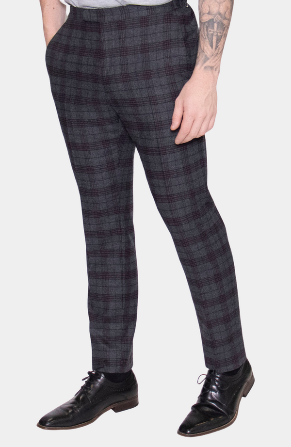 INISHEER CHECK TROUSER - HIRE (IN STORE: £25 / ONLINE: £30)