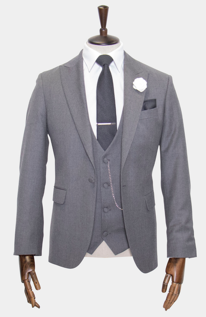 LEWIS 3 PIECE SUIT - MADE TO ORDER