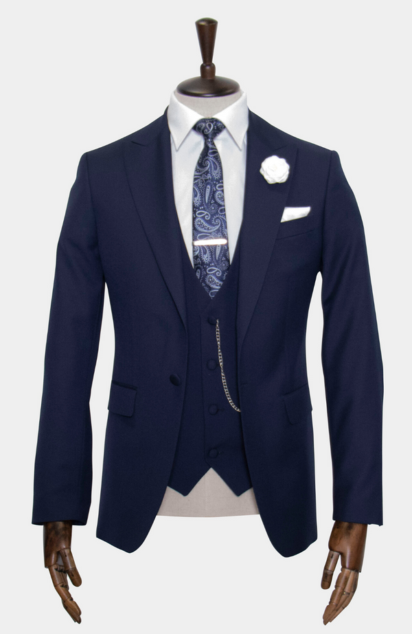 HARRIS NAVY WEDDING SUIT - HIRE