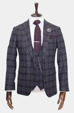 INISHEER CHECK JACKET - MADE TO ORDER