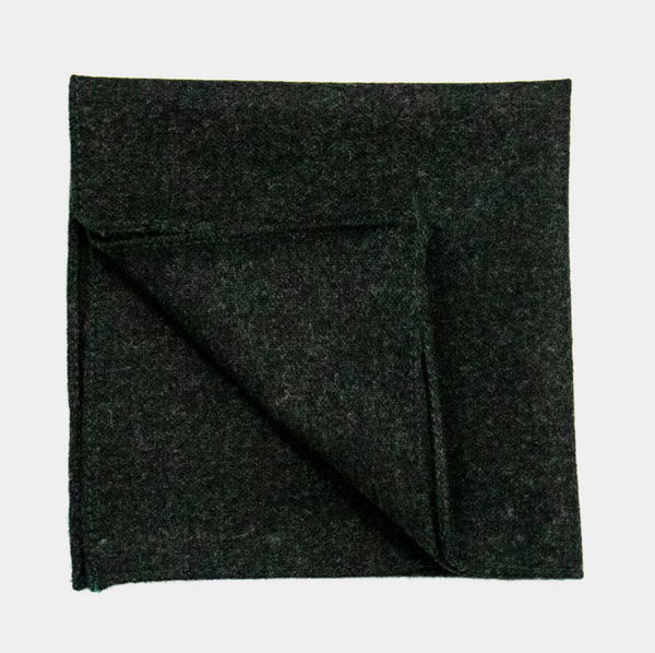 Barra Green Pocket Square.