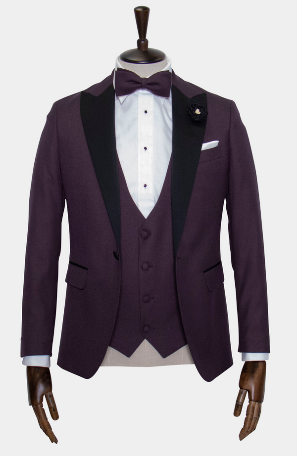 CARDINAL TUXEDO JACKET - HIRE (IN STORE: £50 / ONLINE: £65)