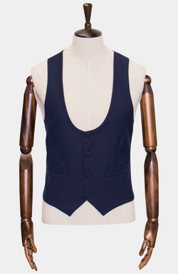 HARRIS LOW SCOOP WAISTCOAT - HIRE (IN STORE: £25 / ONLINE: £30)