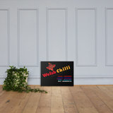 WELSH CHILLI 2020 LOGO CANVAS