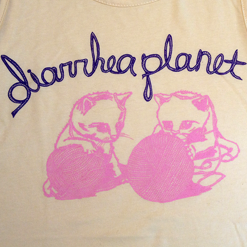 Diarrhea Planet Kitten Tank