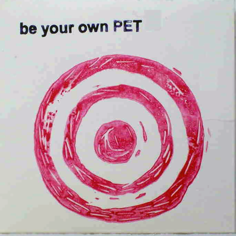 "be your own PET ""Damn Damn Leash"" Original Handmade CD-R"