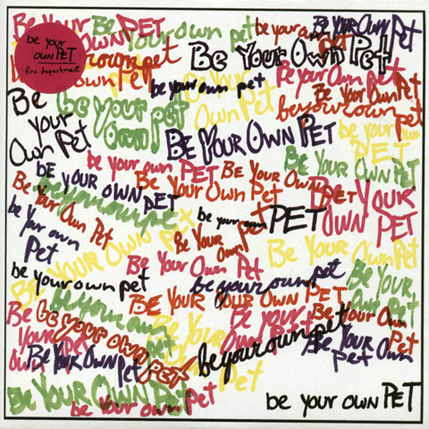 "be your own PET ""Fire Department"" CD"