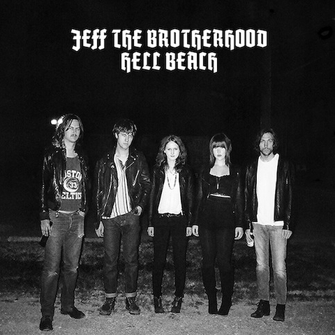 "JEFF The Brotherhood/Hell Beach ""Hole Songs"" 7"""