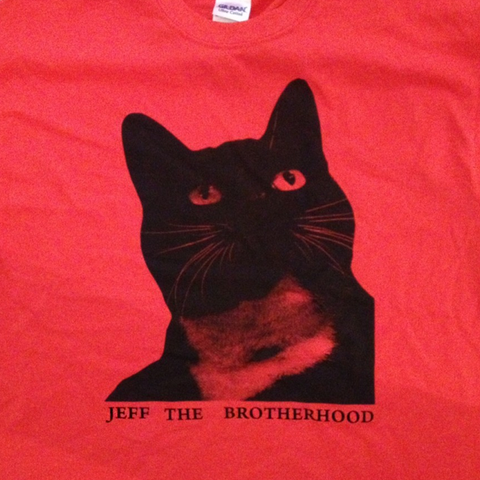 JEFF The Brotherhood Cat T-Shirt