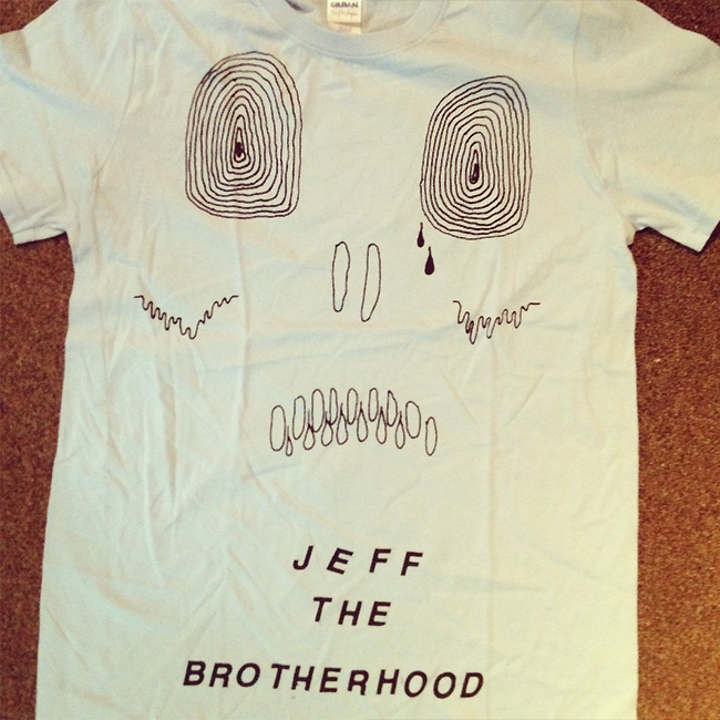 JEFF the Brotherhood SKULL T-Shirt