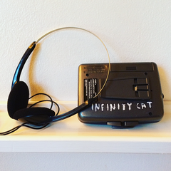 Infinity Cat Cassette Players