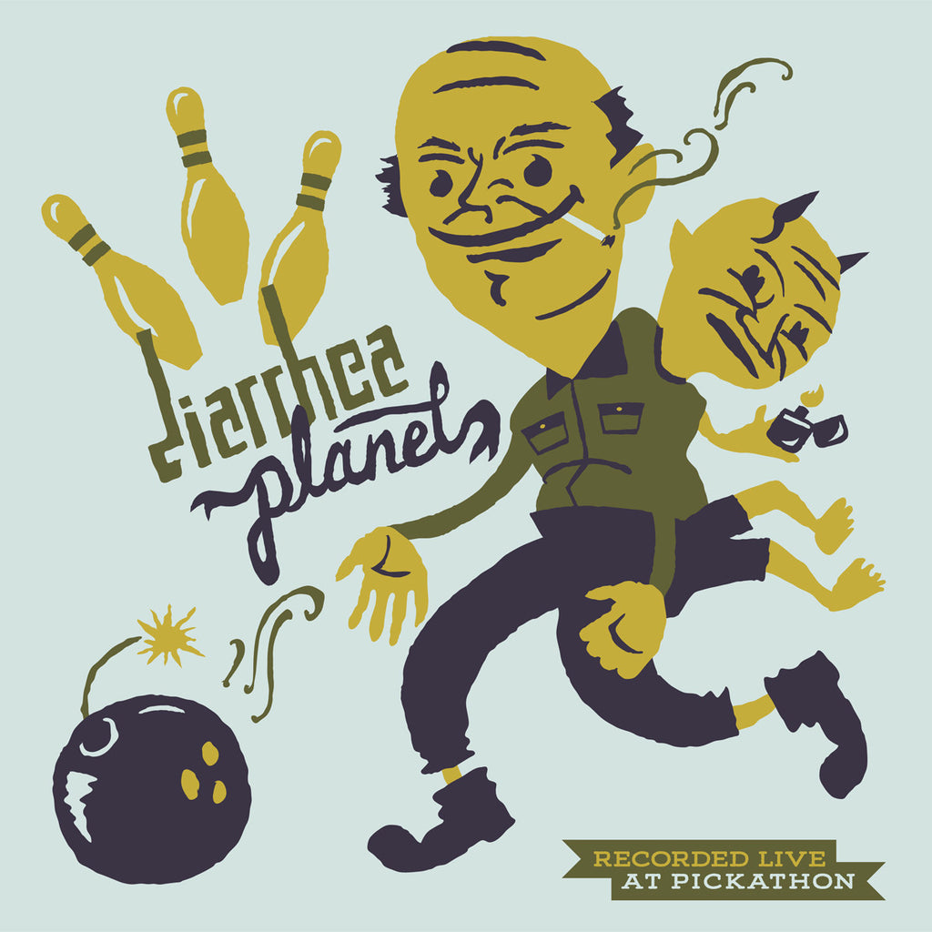 "Diarrhea Planet ""Live At Pickathon"" Record Store Day Split LP"