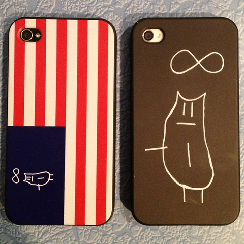Infinity Cat iPhone Case