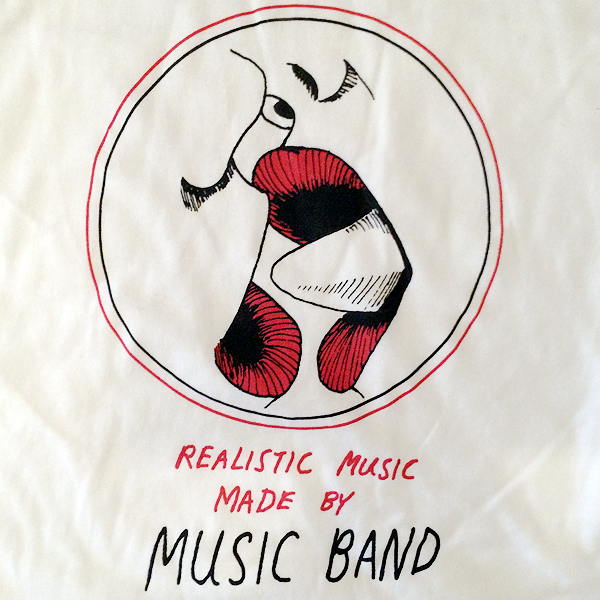 Music Band Realistic Music Baseball Tee