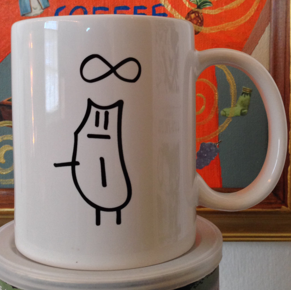 "Infinity Cat ""Coffee Is Not A Sin"" Mug"