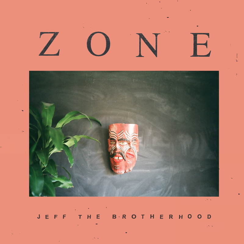"JEFF The Brotherhood ""Zone"" White Vinyl LP"