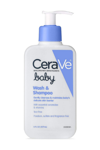 CeraVe Baby Wash and Shampoo