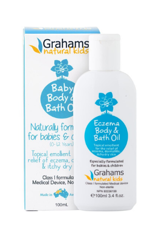 Grahams Natural Baby Body & Bath Oil