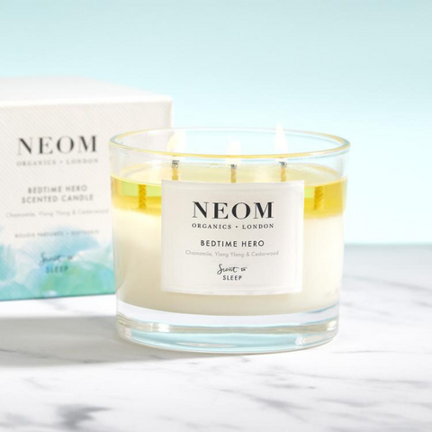 Bedtime Hero Scented Candle by Neom