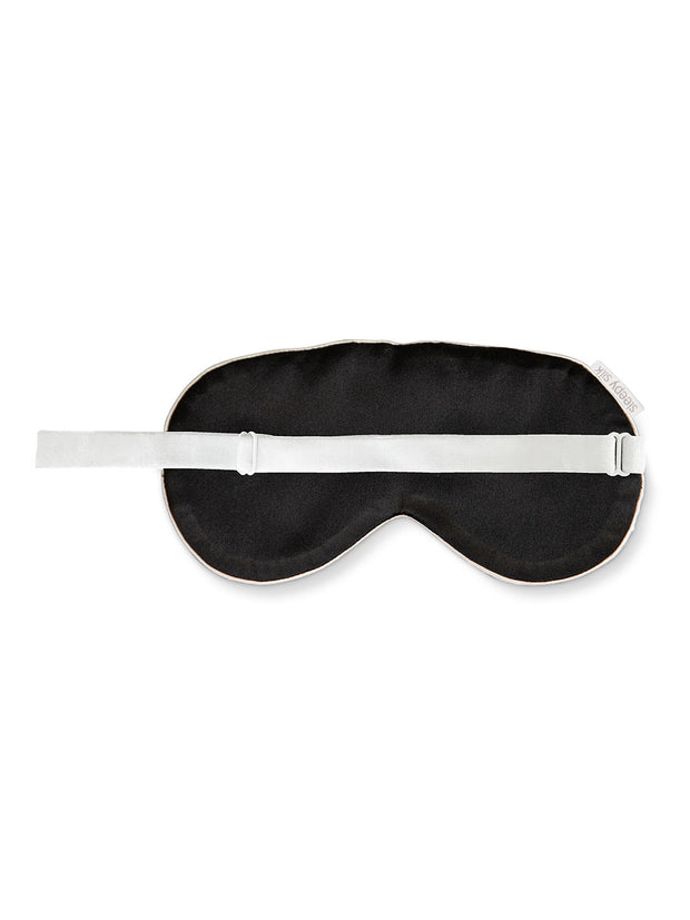 Sleepy Silk, Silk Eye Mask - Ivory White Silk Sleep Mask (SS-EM-WH00), Silky Tots Silk Eye Mask, Slip Sleep Mask, SHHH Silk Silk Eye Mask