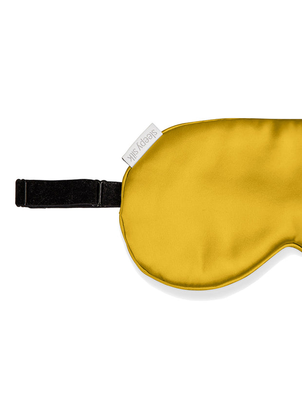 Sleepy Silk, Silk Pillowcase + Silk Eye Mask Set - Mustard Yellow Silk Sleep Mask (SS-PE-YE00), Silky Tots Silk Pillow Slip + Silk Eye Mask, SLIP Beauty to Go! Travel Set, SHHH Silk Travel Set, Blissy Silk Pillowcase