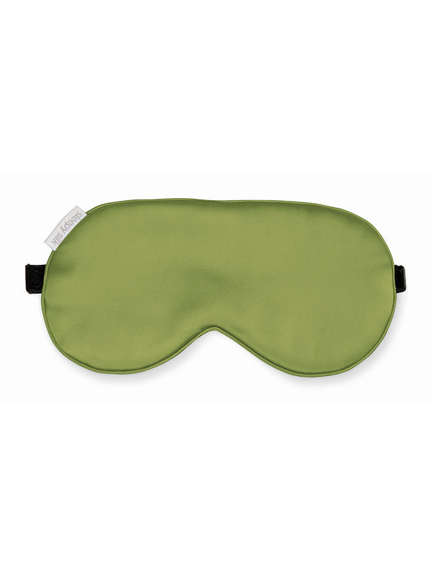Sleepy Silk, Silk Pillowcase + Silk Eye Mask Set - Olive Green Silk Sleep Mask (SS-PE-GN00), Silky Tots Silk Pillow Slip + Silk Eye Mask, SLIP Beauty to Go! Travel Set, SHHH Silk Travel Set, Blissy Silk Pillowcase