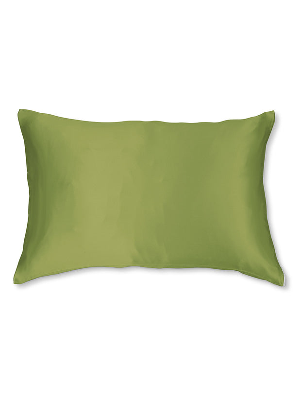 Sleepy Silk, Silk Pillowcase - Olive Green (SS-PC-GN00), Silky Tots Double Sided Silk Pillow Slip, Pawda Baby 100% Mulberry Silk Junior or Adult Pillow Case, Slip Pillowcase, SHHH Silk Silk Pillowcase, Blissy Silk Pillowcase
