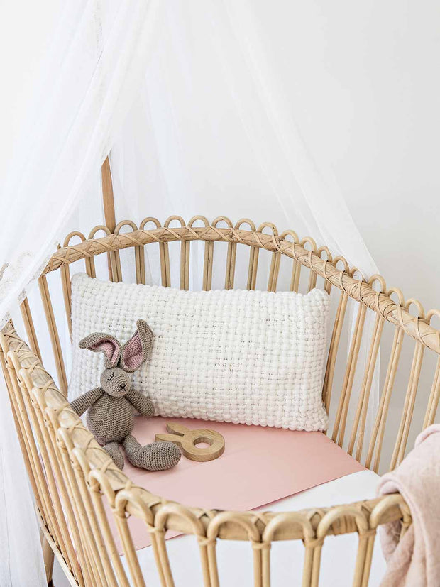 Sleepy Silk, Silk Sleeve, Set of 2 (Bassinet & Cot / Crib Sleeve) - Blush Pink (SS-BC-PK00) for baby hair loss and baby bald spots, Silky Tots Silk Cot Slip + Silk Bassinet Slip, Pawda Baby 100% Mulberry Silk Cot Semi Sheet and Silk Semi Sheet for Bassinet, Monday Silks, Baby Tresses Cot Bed Sheet