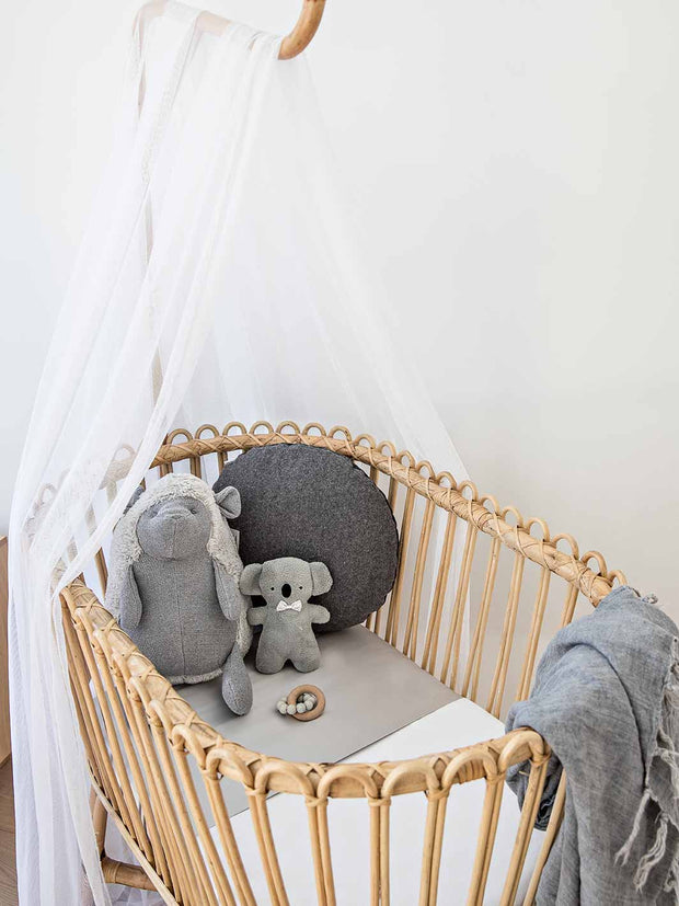Sleepy Silk, Silk Sleeve, Set of 2 (Bassinet & Cot / Crib Sleeve) - Dove Grey - Dove Grey Grey (SS-BC-GR00) for baby hair loss and baby bald spots, Silky Tots Silk Cot Slip + Silk Bassinet Slip, Pawda Baby 100% Mulberry Silk Cot Semi Sheet and Silk Semi Sheet for Bassinet, Monday Silks, Baby Tresses Cot Bed Sheet