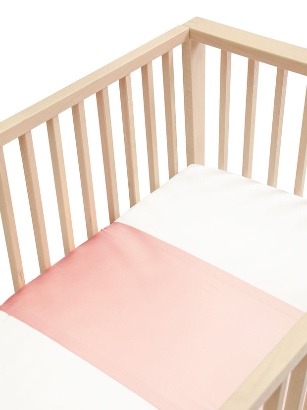 Sleepy Silk, Silk Sleeve for Cots / Cribs - Blush Pink (SS-CS-PK00) for baby hair loss and baby bald spots, Silky Tots Silk Cot Slip, Pawda Baby 100% Mulberry Silk Cot Semi Sheet, Monday Silks, Baby Tresses Cot Bed Sheet
