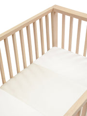 Silk Sleeve for Cots / Cribs - Ivory