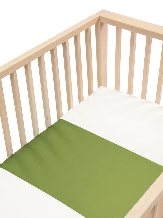 Sleepy Silk, Silk Sleeve for Cots / Cribs - Olive Green (SS-CS-GN00) for baby hair loss and baby bald spots, Silky Tots Silk Cot Slip, Pawda Baby 100% Mulberry Silk Cot Semi Sheet, Monday Silks, Baby Tresses Cot Bed Sheet