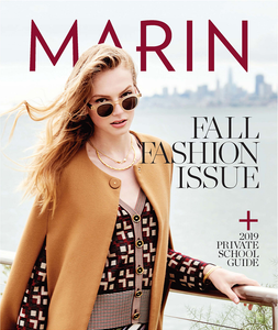 Featured On the Cover of Marin Magazine Fall Fashion Issue - September 2019