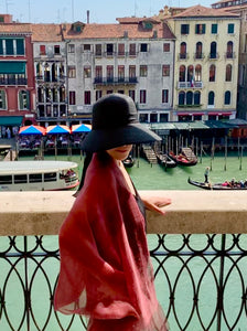 Venice Scarf Red