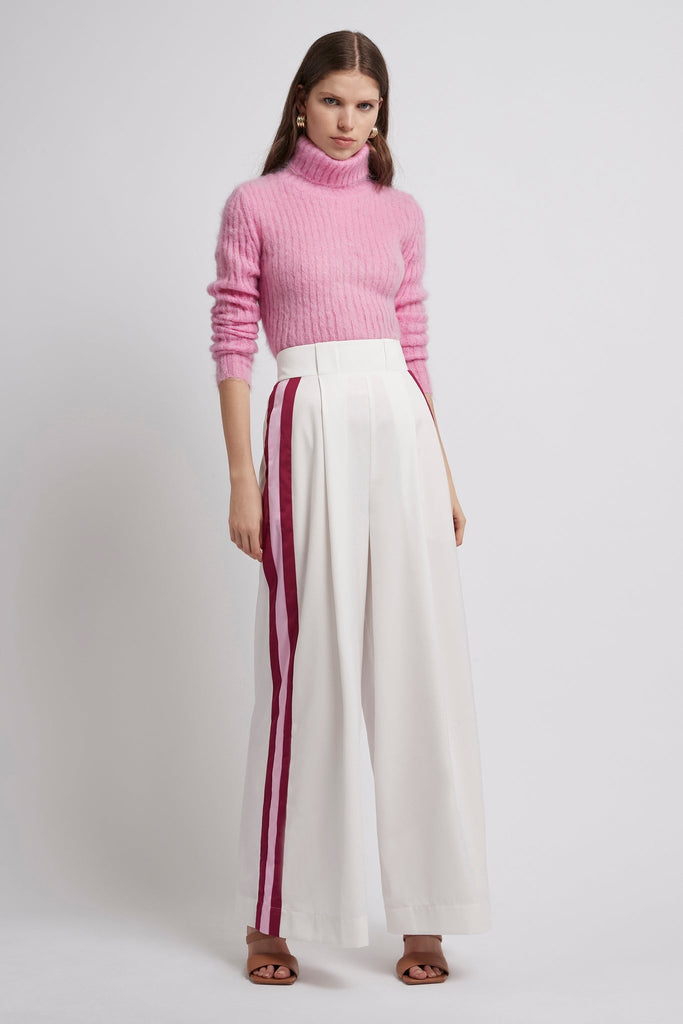 Psychedelia Wide Leg Stripe Trouser