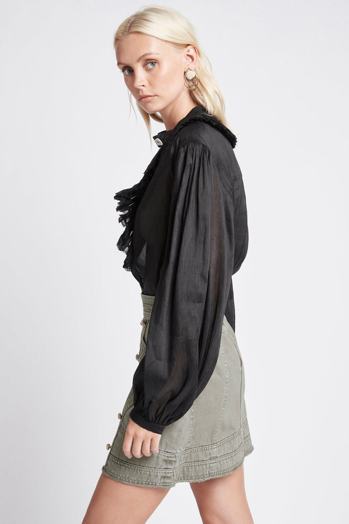 Beachcomber Pleated Blouse