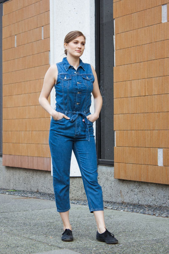Levi's Cropped Taper Jumpsuit Delicate Condition Jeans & Apparel - Dutil Denim