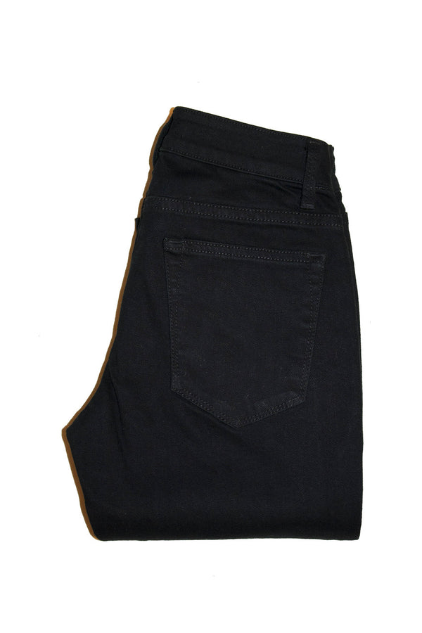 Dutil Quintessential Mid-Rise Skinny - Black Overdye - Dutil Denim