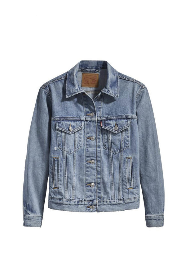 Levi's Ex Boyfriend Trucker Jacket - Dream of Life Jeans & Apparel - Dutil Denim