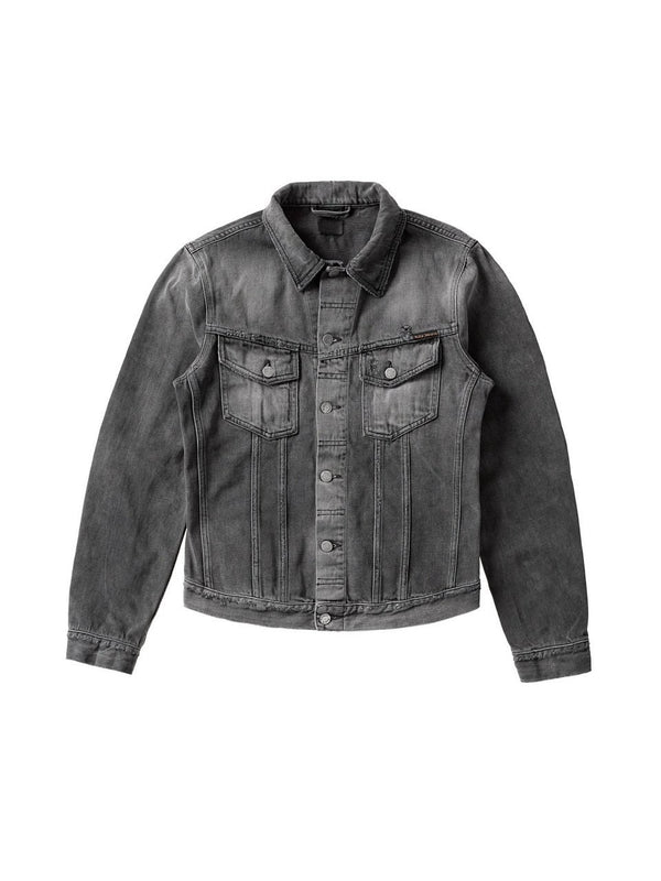 Nudie Billy Jacket - Shimmering Shist Grey - Dutil Denim