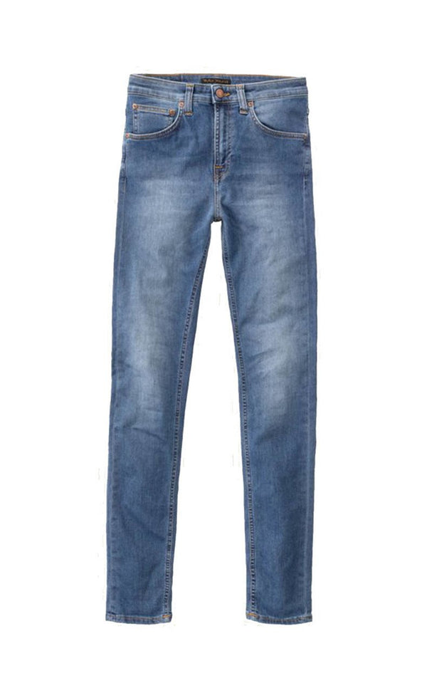 Nudie Hightop Tilde Blue Stellar Jeans & Apparel - Dutil Denim