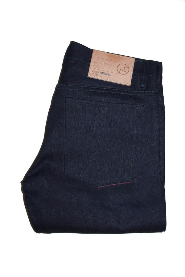 Doublewood Narrow - Black Weft - Dutil Denim