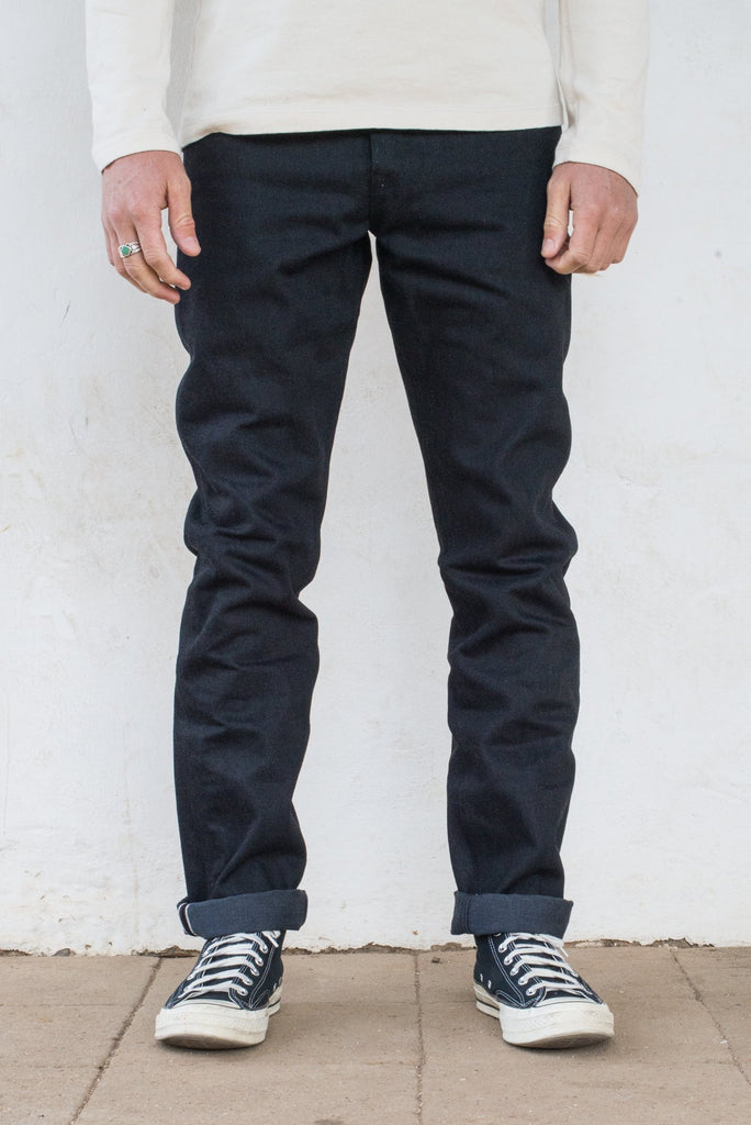 Freenote Rios - Black Grey 14.25oz Jeans & Apparel - Dutil Denim